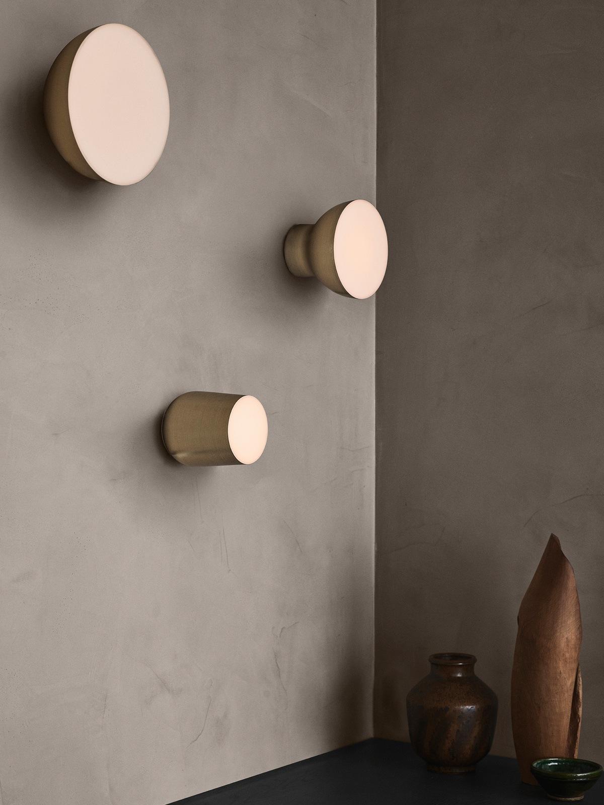 DesignOrt Lampen Blog: Wand- oder Deckenleuchten &tradition Passepartout Lampen in Gold