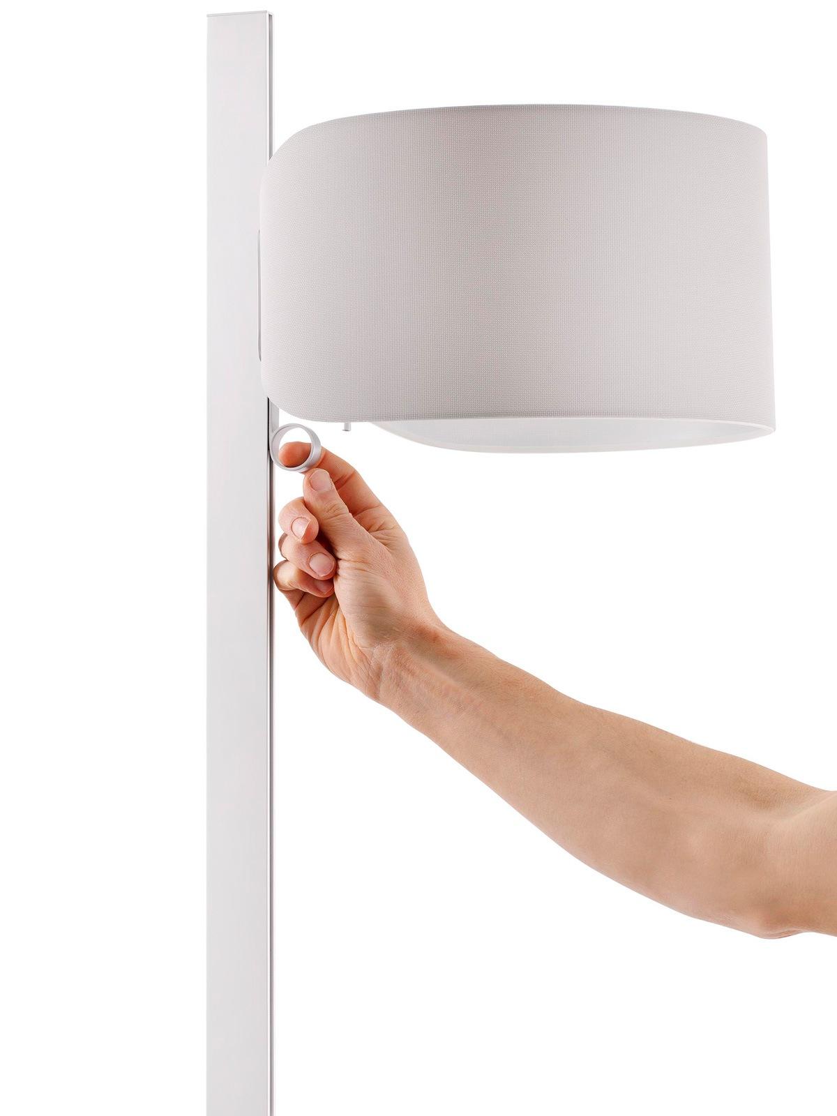 Faro Lampe Stand Up Stehleuchte mit verstellbarem Schirm Designort