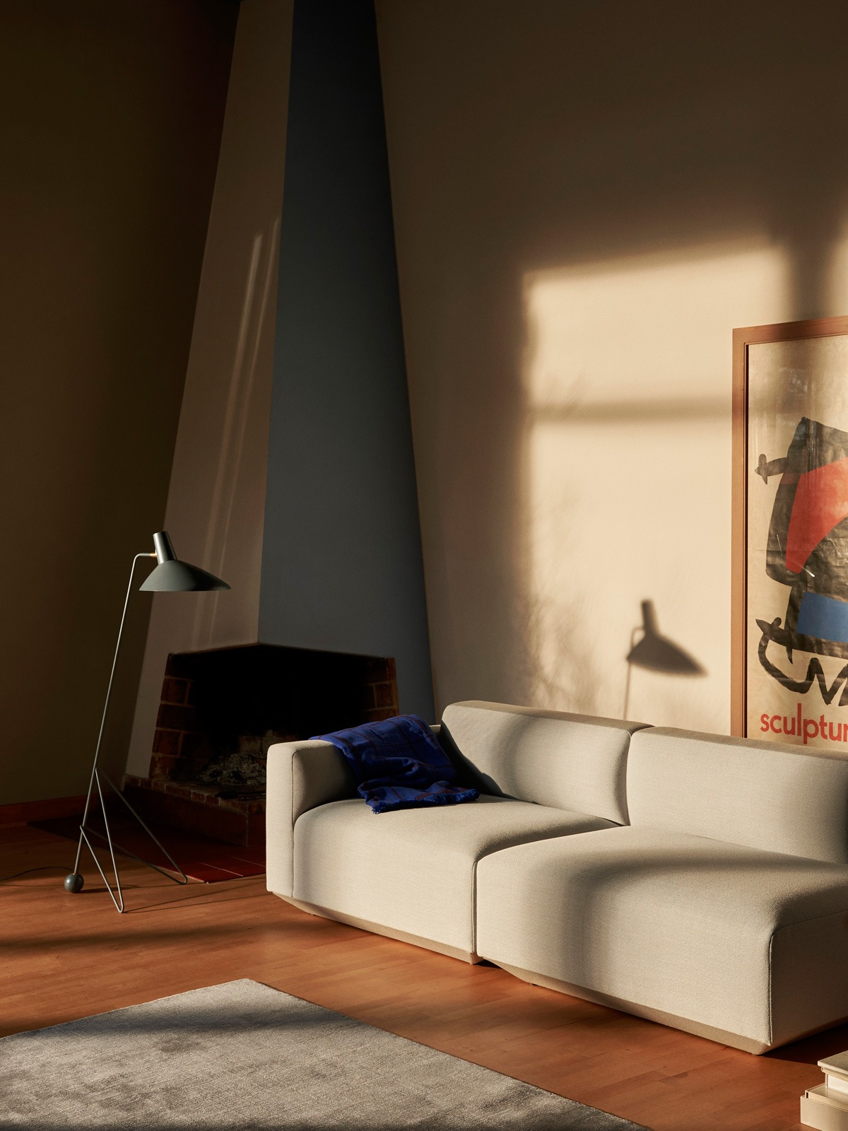 &tradition Lampe Tripod HM 8 Stehlampe dänisch Design