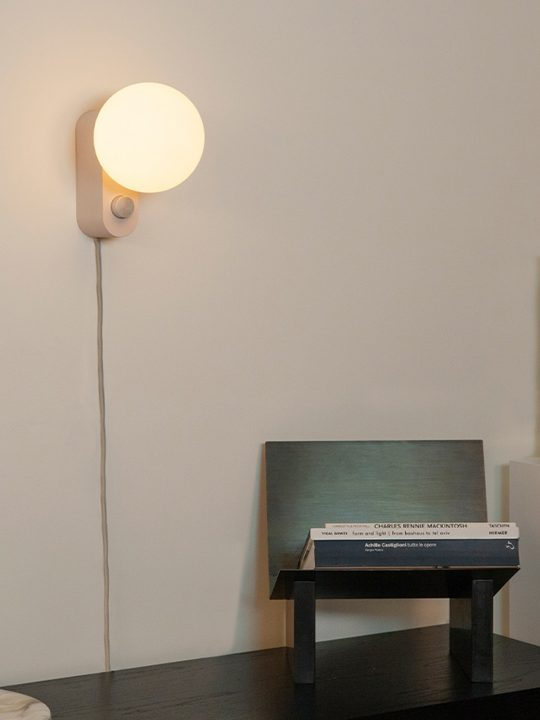 Alumina Wandleuchte mit großem Leuchtmittel Tala DesignOrt Onlineshop