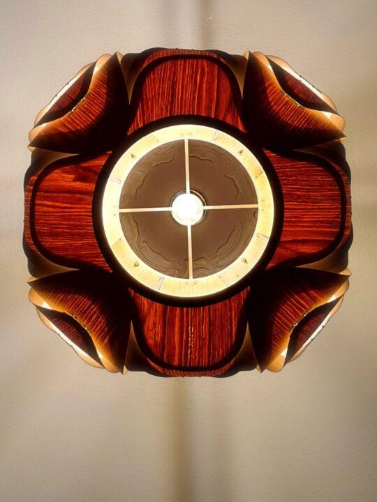ONYEE Lights Anida Holz Lampe Detail