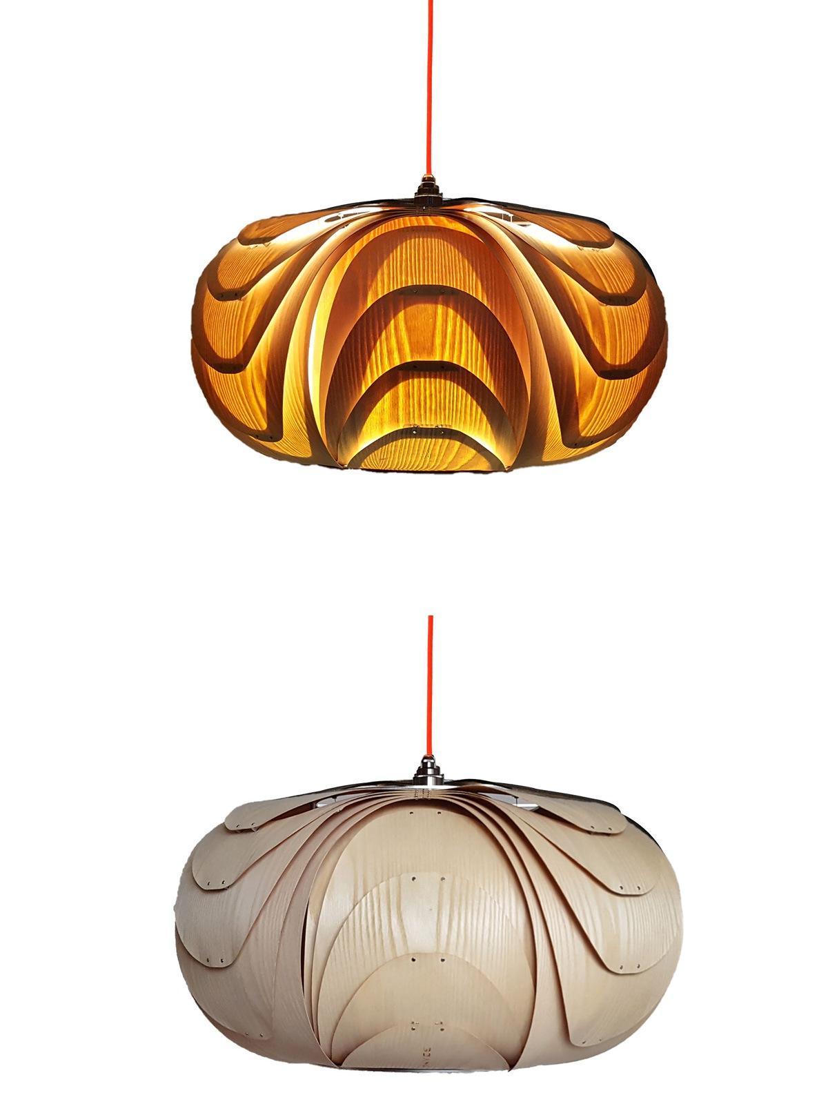 ANIDA Esche Holzleuchte von ONYEE Lights DesignOrt Leuchten Berlin