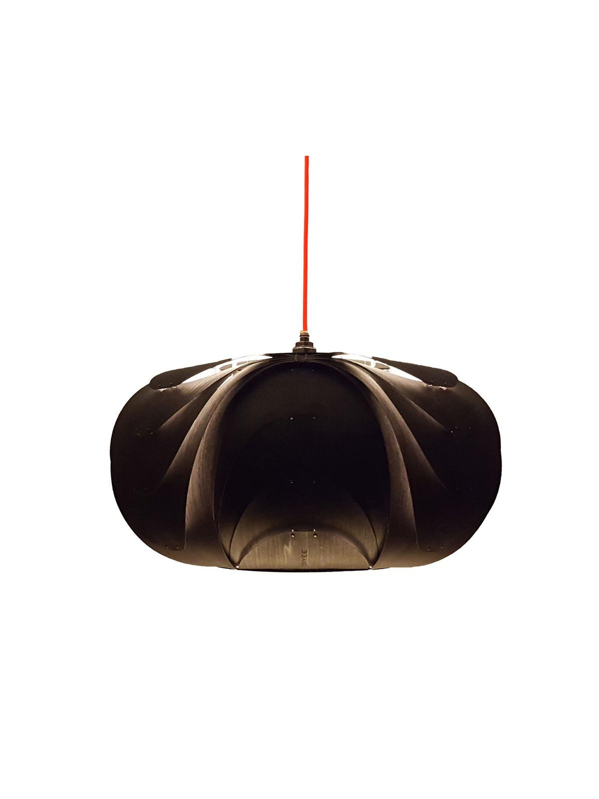 ANIDA Schwarz ONYEE lights Holzleuchte DesignOrt Onineshop