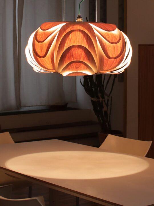 ONYEE Lights ANIDA Leuchte aus Holz DesignOrt