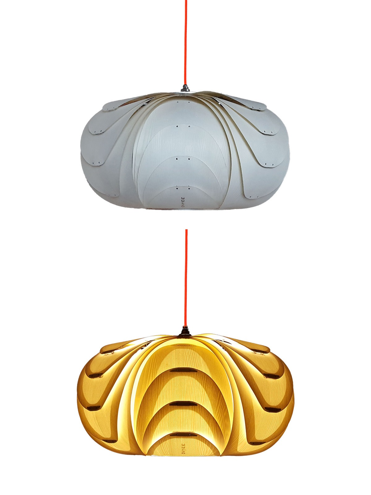 ONYEE Lights ANIDA Weiss Holz Leuchte Designort Onlineshop Lampen