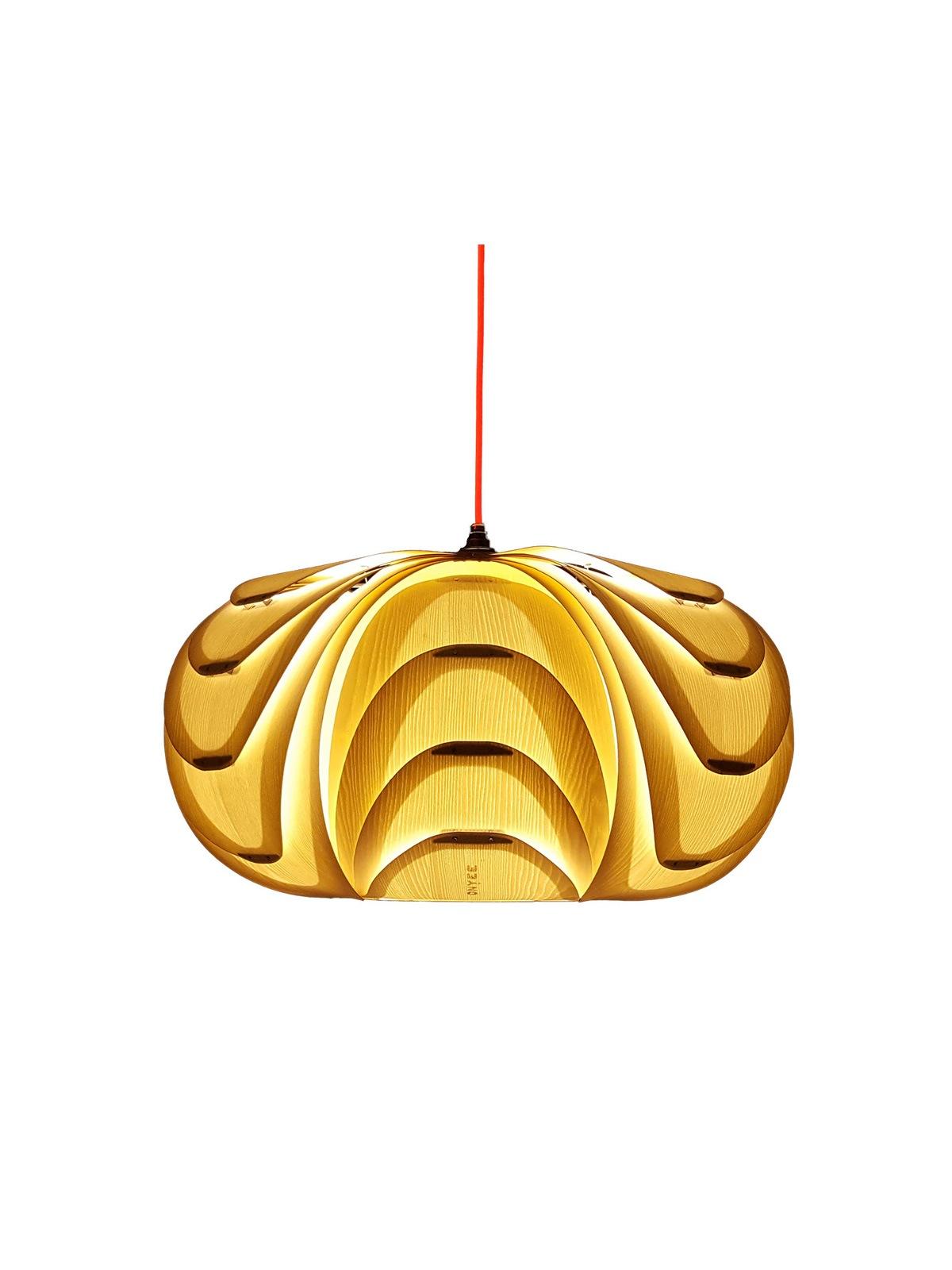 ONYEE Lights ANIDA Weiß Holzleuchte Designort Lampen Berlin