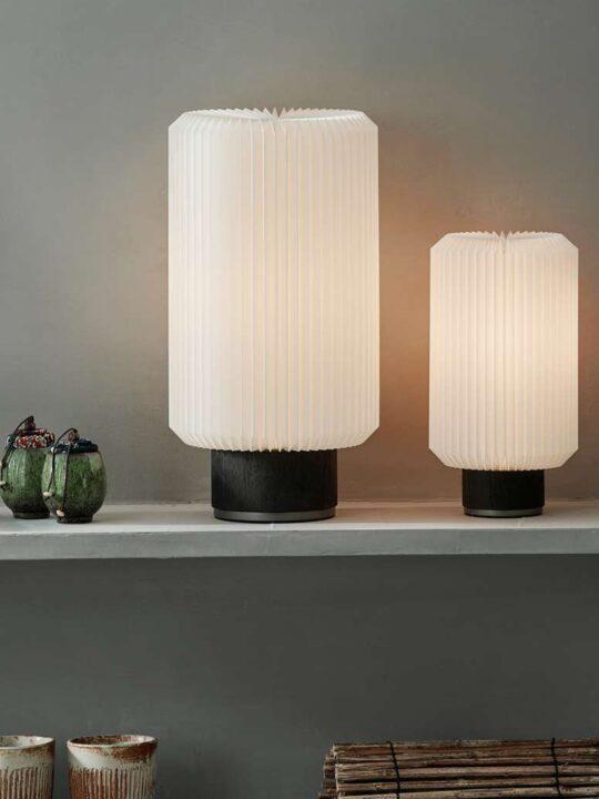 Le Klint Tischlampe Cylinder 382 skandinavische Desigernleuchte DesignOrt Onlineshop