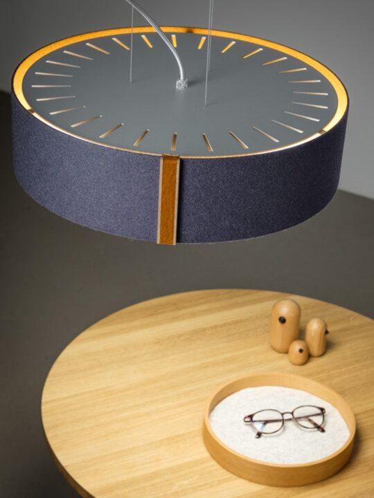 DesignOrt Onlineshop Lampen Laralfelt Filz Leuchte Domus Licht