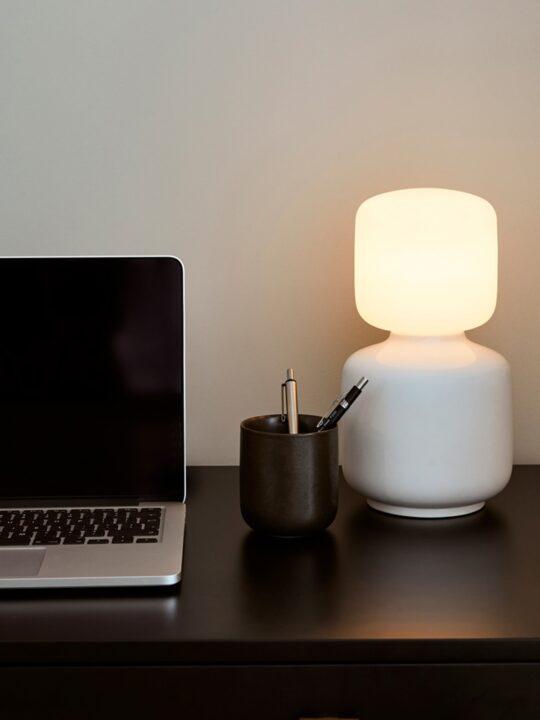 Designerleuchte Tala Reflection mit mundgeblasenem Leuchtmittel Designort