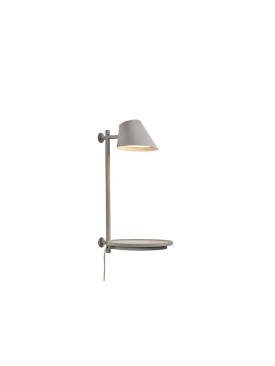 Stay Wall Table Wandleuchte mit Ablage Design for the People by Nordlux DesignOrt Lampen Berlin