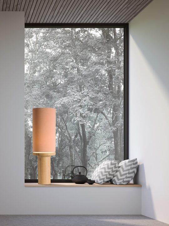 DesignOrt Onlineshop Leuchten Berlin Lampenblog Tischlampen mit Textilschirm Domus Tintin