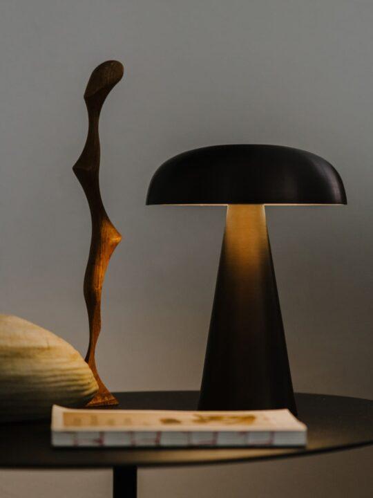 skandinavische Designerleuchte mit Akku Como von &tradition Lampe