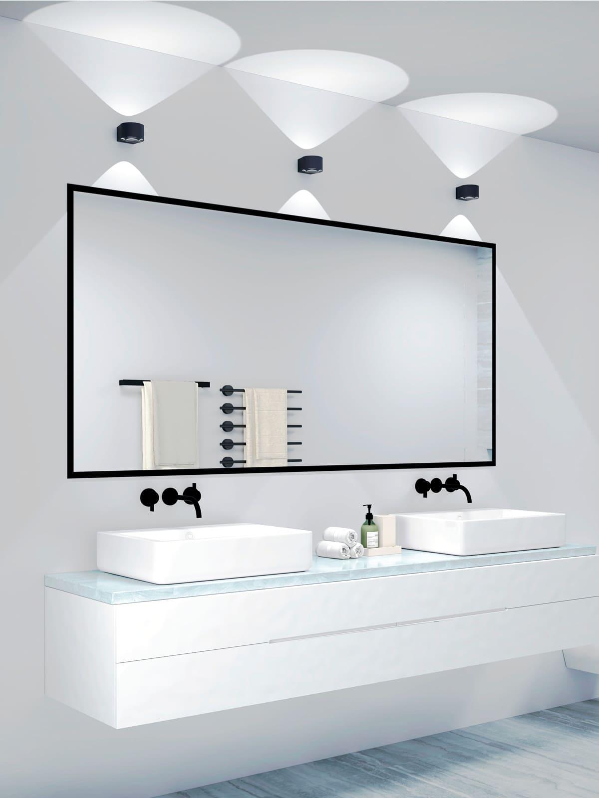 Lampenblog: Lampen und Leuchten von LOOM Design FREY Wandlampen über Spiegel