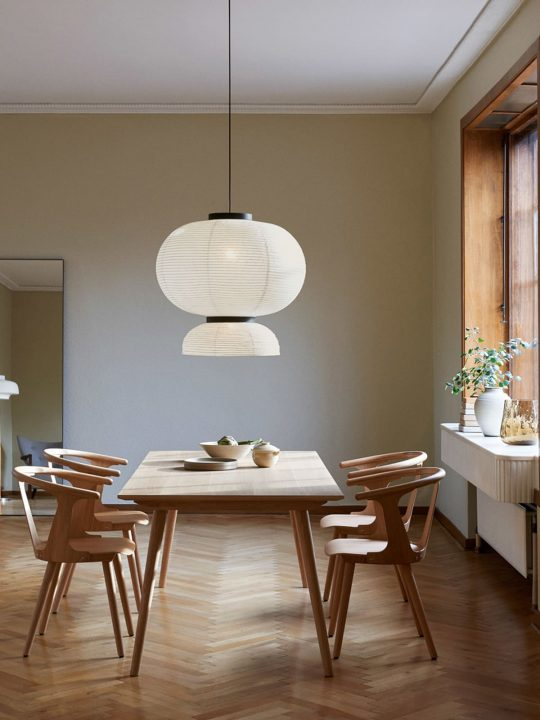&tradition Lampe Formakami JH5 Papierleuchte