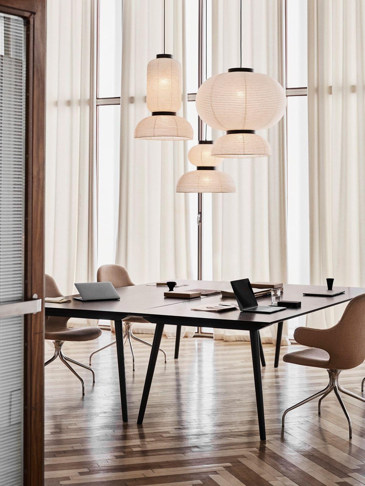 Designerleuchten aus Reispapier &tradition Formakami Leuchten