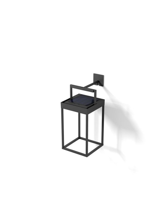 LUCERNA SOLAR Wandleuchte oder Tischlampe zum Aufladen LOOM Design DeisgnOrt