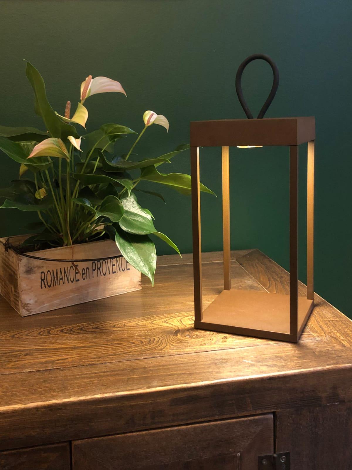 tragbare LED Lampe zum Aufladen dänische Designerlampe