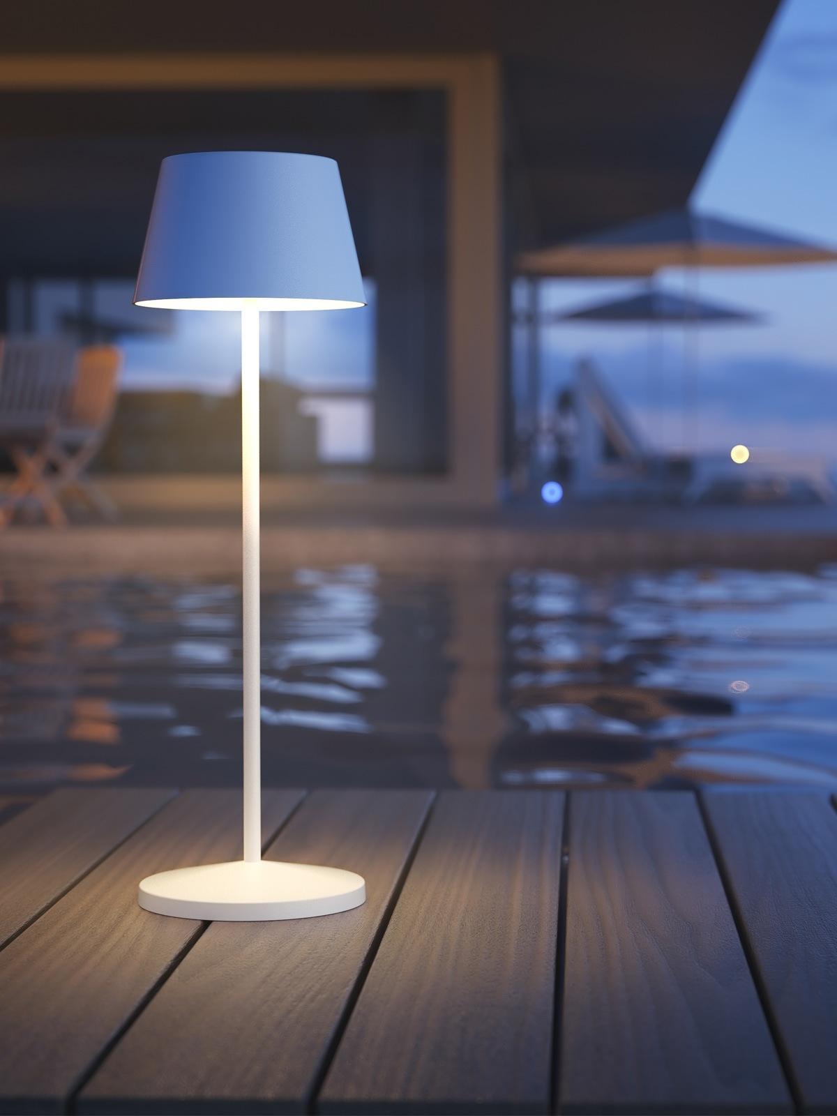 LOOM Design Modi aufladbare Tisch Lampe zum Tragen