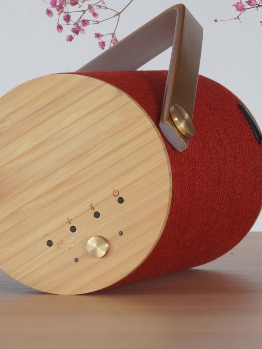 LOOM Design tragbare Lautsprecher mit Beleuchtung SILO 1