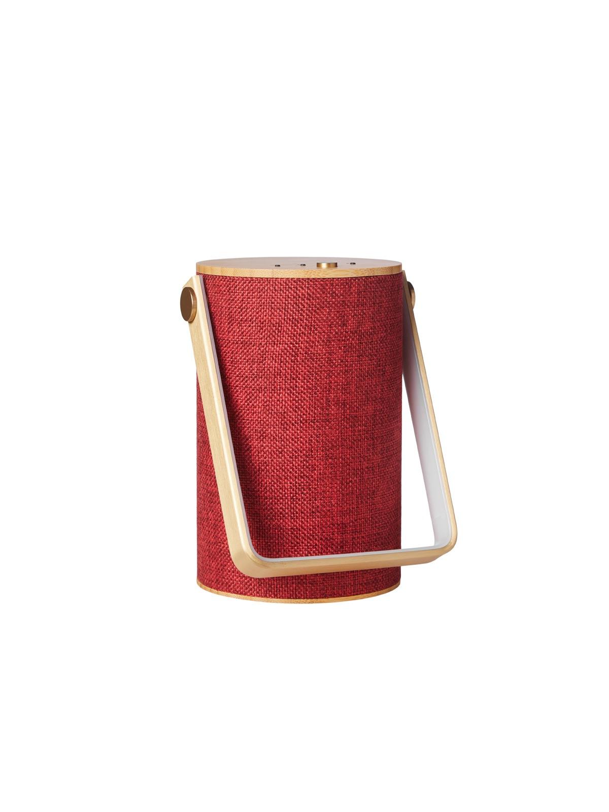 Loom Design Silo 1 tragbare Leuchte und Lautsprecher DesignOrt Leuchten Berlin