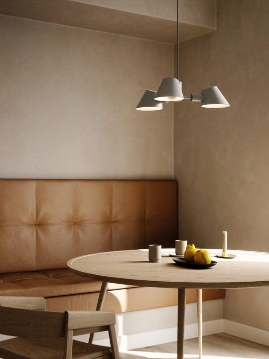 Stay Pendel Leuchte mit drei Lampenschirmen Design for the People by Nordlux