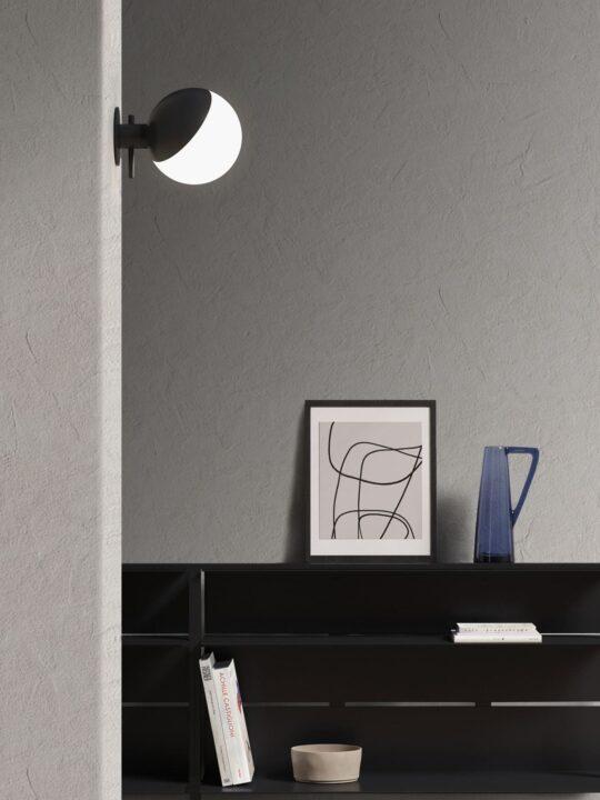 Baluna Table / Wall Grupa Leuchte mundgeblasenes Glas DesignOrt