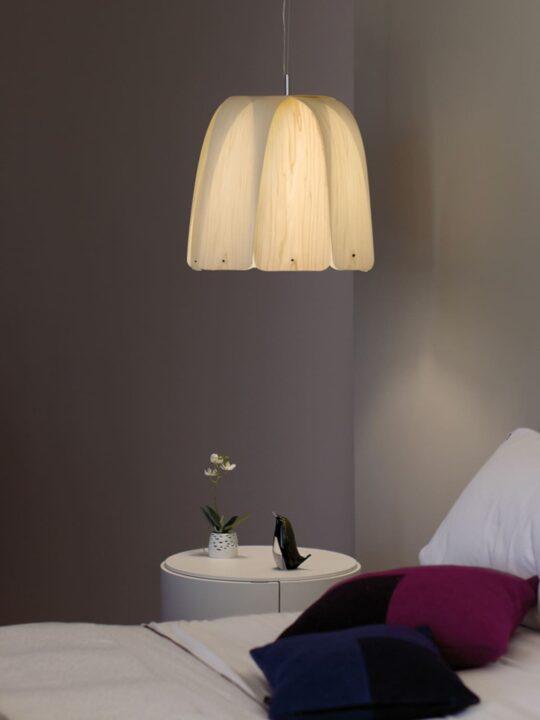 LZF Lamps Como Leuchte aus Holz bei DesignOrt Onlineshop und Lampenladen