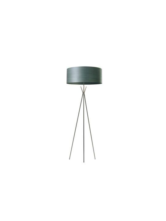 LZF Gea Cosmos Stehleuchte mit Lampenschirm aus Holzfurnier DesignOrt Berlin Leuchten