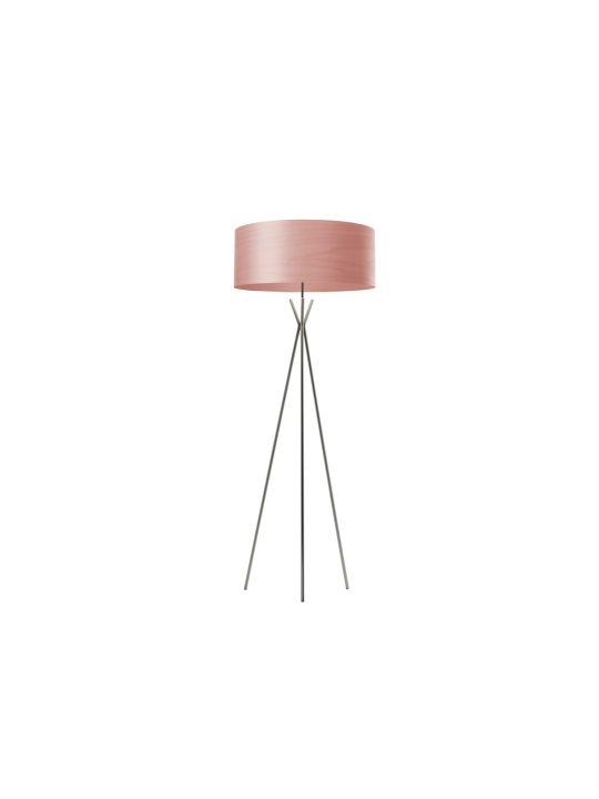 LZF Gea Cosmos Stehleuchte mit Lampenschirm aus Holz DesignOrt Onlineshop Lampen Berlin