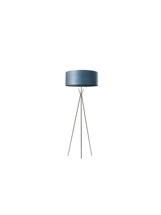 LZF Gea Cosmos Stehleuchte mit Lampenschirm aus Echtholzfurnier Designort
