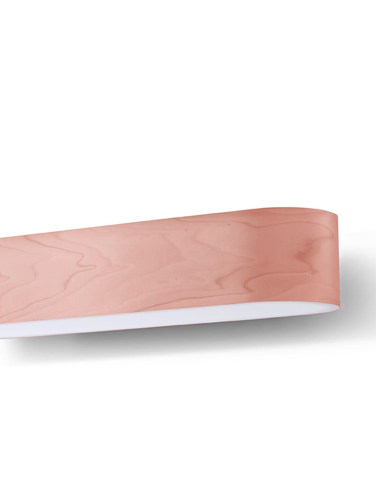 I Club m LZF Lamps Furnierholz Farbe Rose Pink