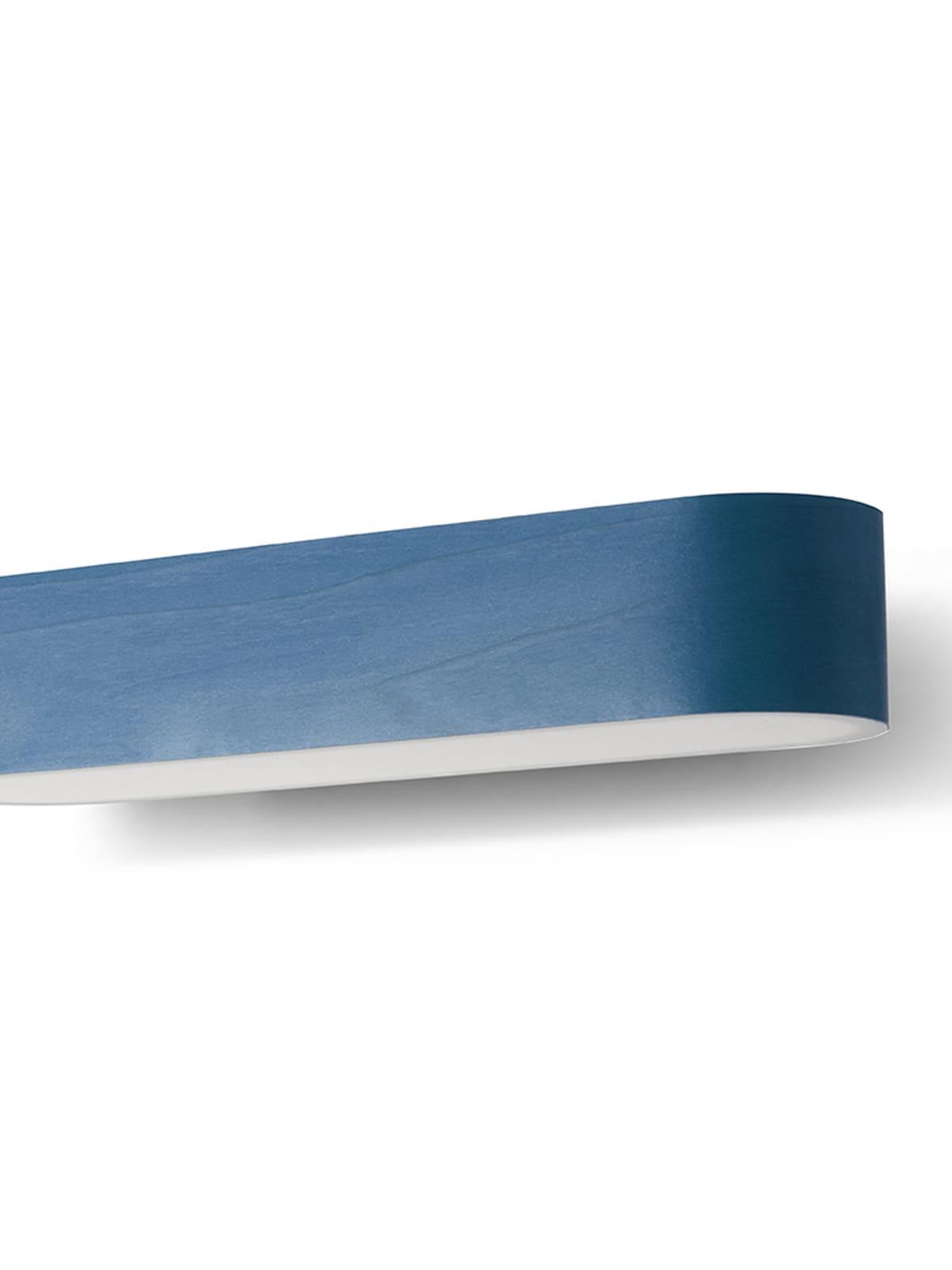 LZF Lamps Furnierholz Farbe Blau Azul