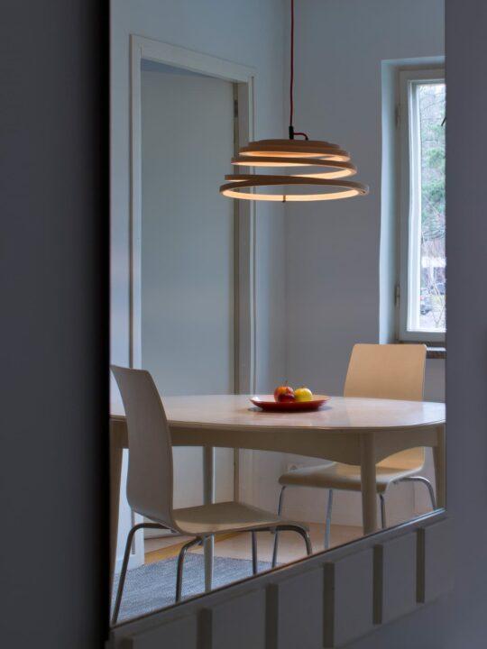 Secto Design Holzleuchte Aspiro 8000 LED Leuchte