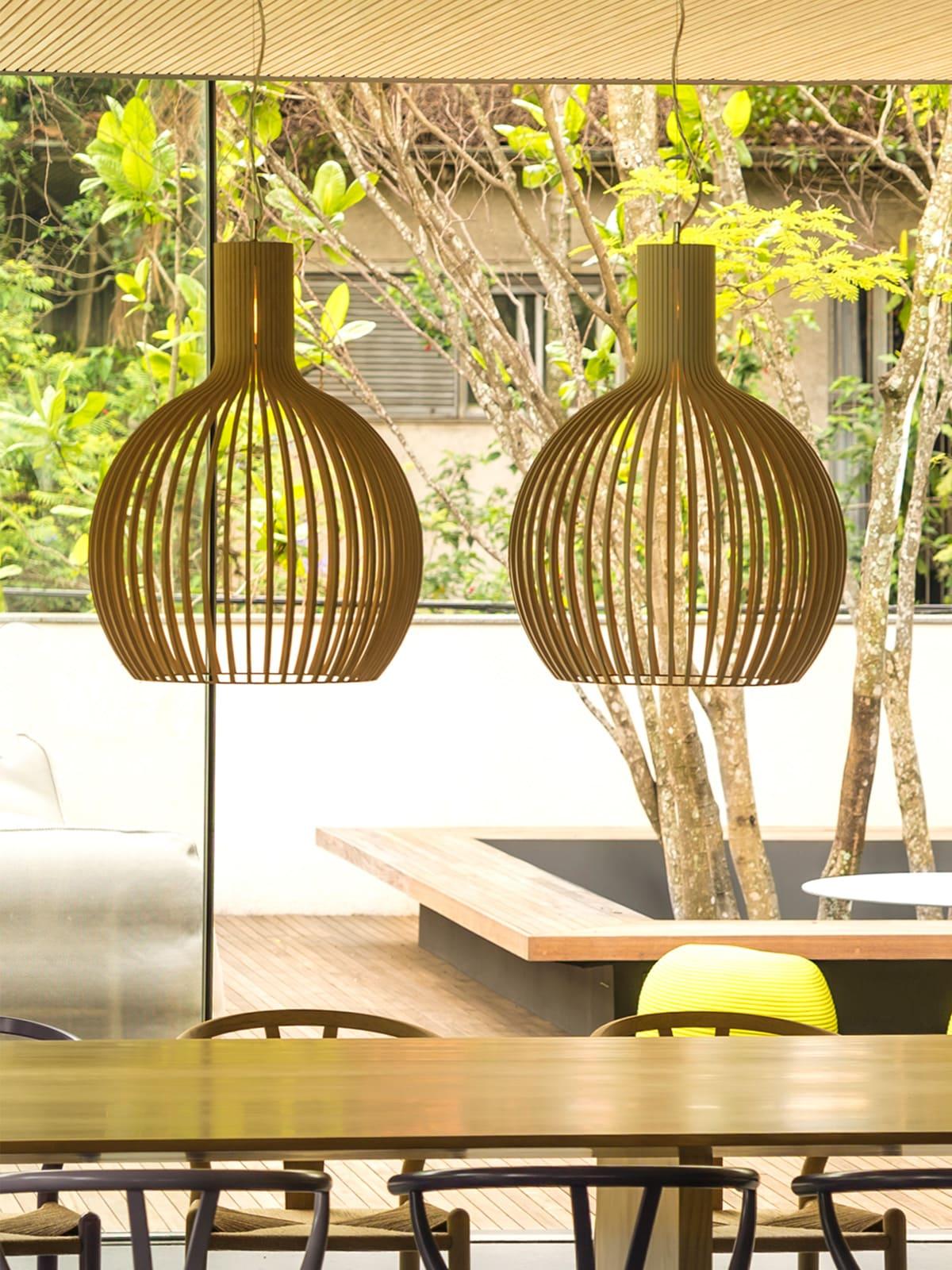 Secto Design Octo 4240 Holzleuchte nachhaltig Designort