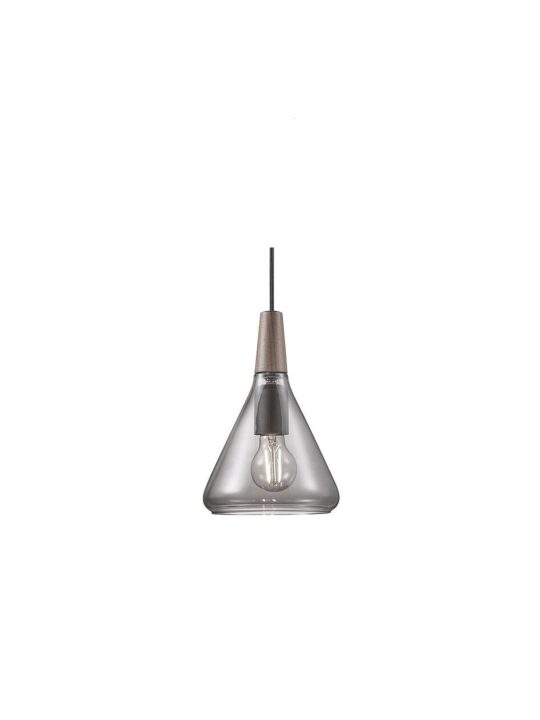 Design for the People Nori Glas Leuchte Rauchglas