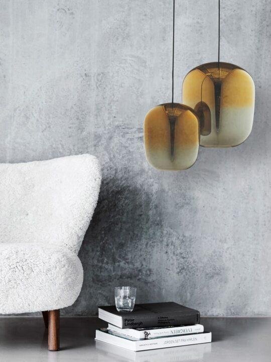 Frandsen Ombre Lampe Glas mit Farbverlauf Designort Berlin
